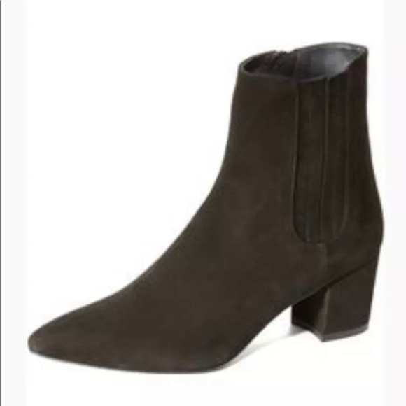 Basis Bootie Suede Anthracite Gray